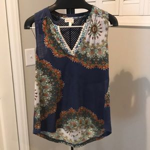 Anthropologie Meadow Rue Tunic Tank Top Size S